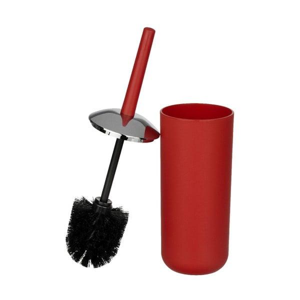 Czerwona szczotka toaletowa Wenko Brasil Red