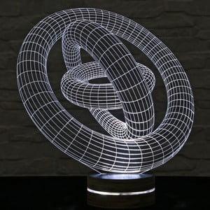 Lampa 3D stołowa Cosmo