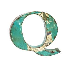 Litera Alfabeto Q