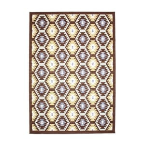 Dywan Opal Choco/Green, 120x170 cm