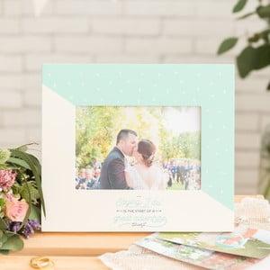 Ramka na zdjęcie ślubne o wymiarach 10x15 cm Mr. Wonderful I do