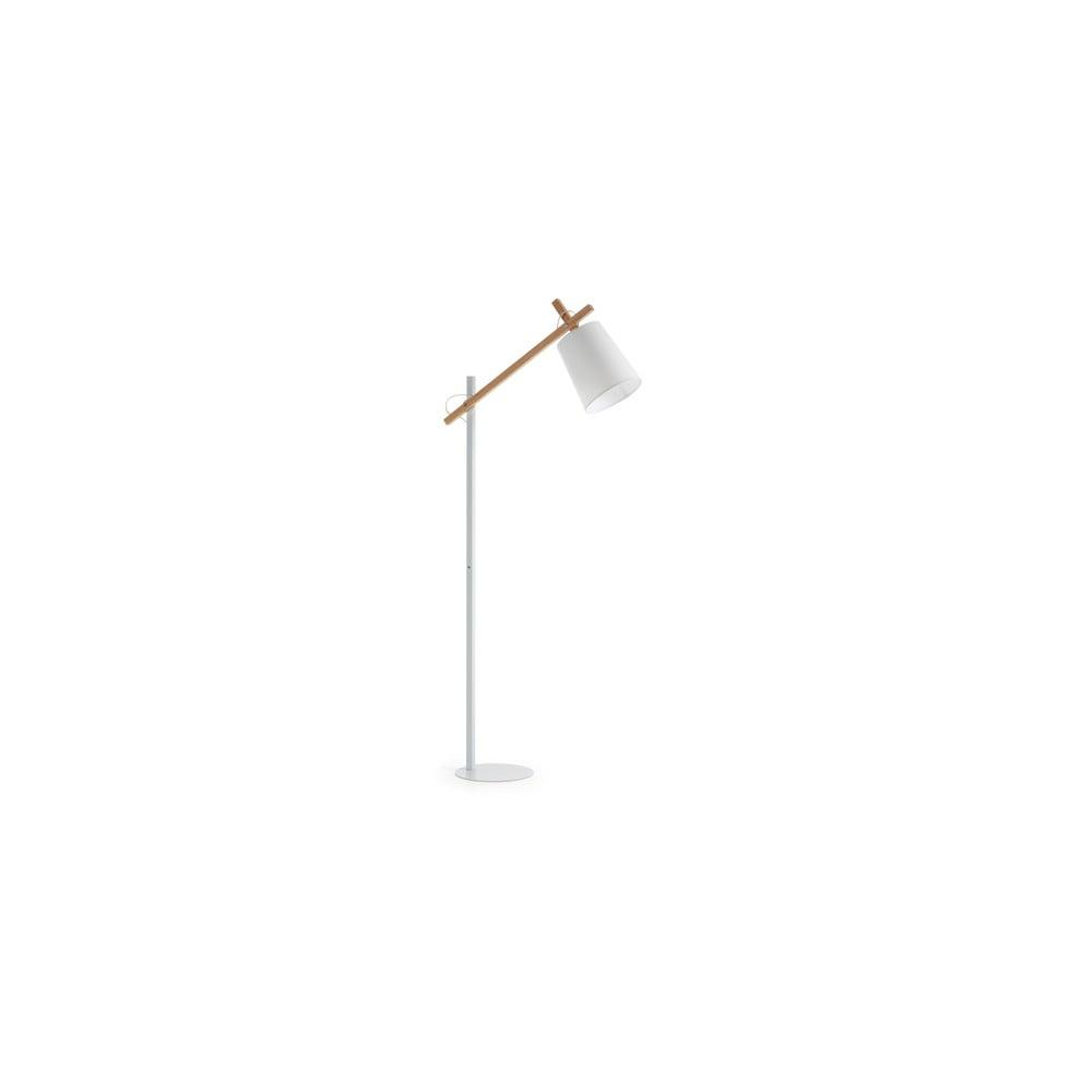 Biała lampa stojąca La Forma Jovik