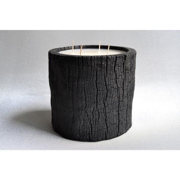 Palmowa świeczka Legno Wood o zapachu wanilii i paczuli, 120 godz.