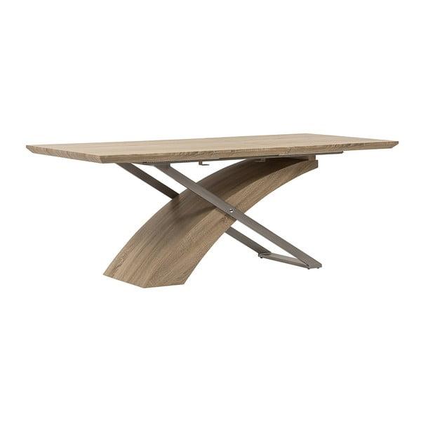 Stół rozkładany Level, 160-200 cm, dąb