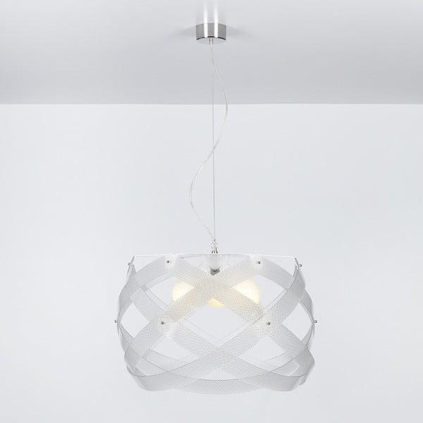 Lampa wisząca Nuclea Emporium 53 cm, transparentna