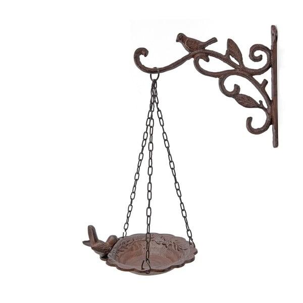 Wieszak ścienny z karmnikiem dla ptaków Antic Line Bird