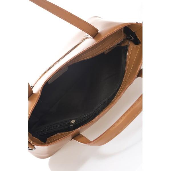 Skórzana torebka Markese 2418 Cognac