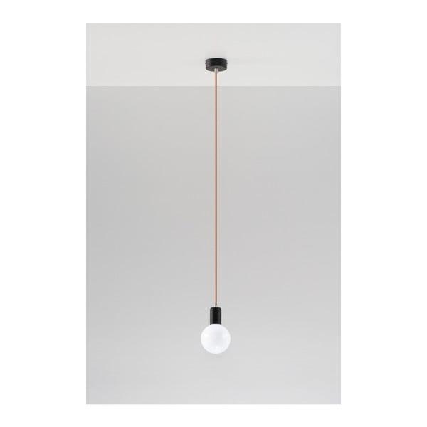Miedziana lampa wisząca Nice Lamps Bombilla