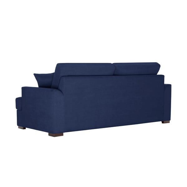 Sofa trzyosobowa Jalouse Maison Irina, ciemnoniebieska