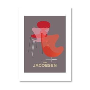 "Plakat autorski ""Arne Jacobsen"""