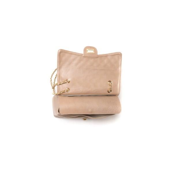 Skórzana torebka Carla Ferreri 2063 Fango