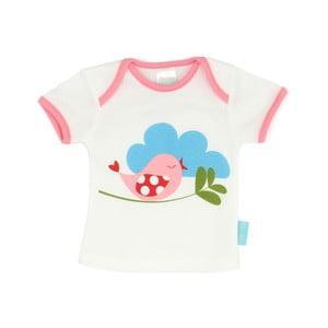 Dziecięca koszulka z krótkim rękawem Little Birds, 12-18 miesięcy