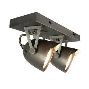Szara lampa sufitowa LABEL51 Spot Moto Cap Dos
