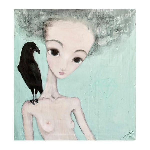 Plakat autorski: Léna Brauner Niezdecydowana, 56x60 cm