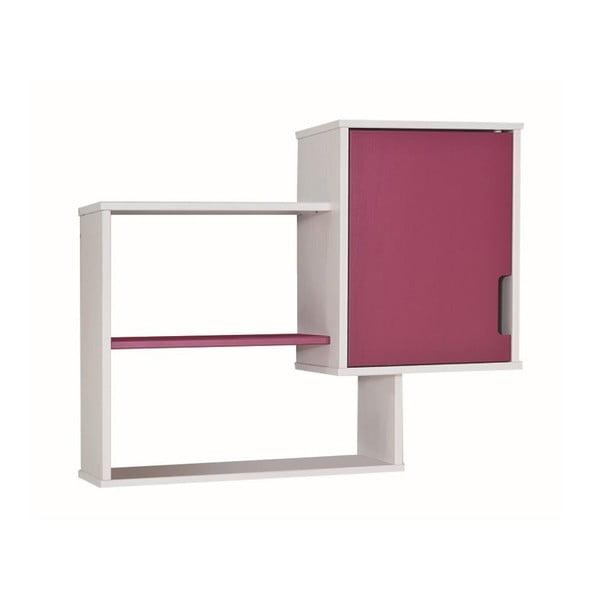 Różowo-biała półka na książki 13Casa UP