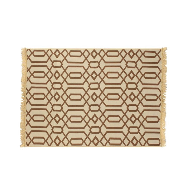 Brązowo-beżowy dywan Ya Rugs Kenar, 80x150cm