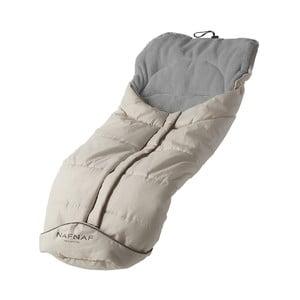 Szary śpiworek do wózka Naf Naf Liso Basic