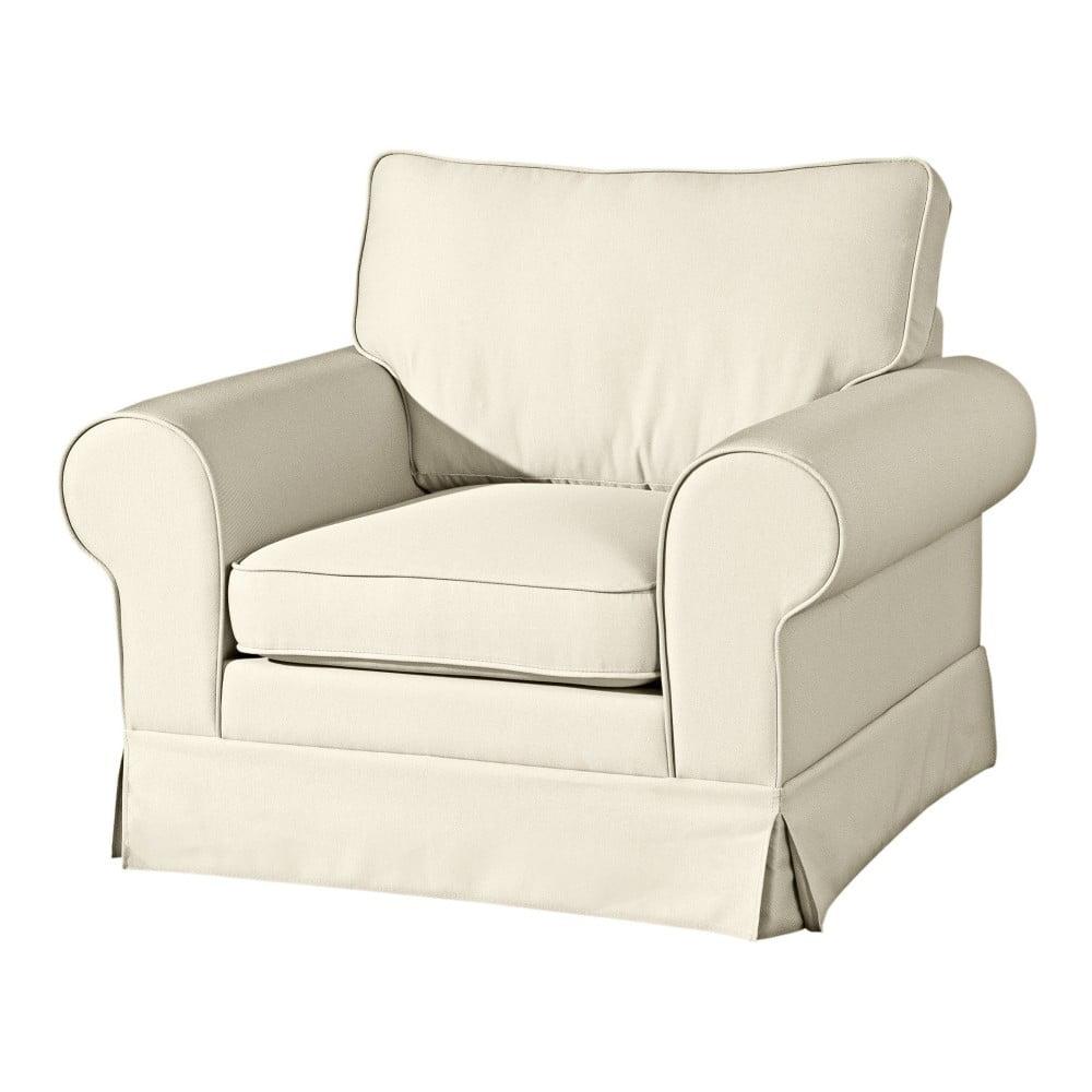 Kremowy fotel Max Winzer Hillary