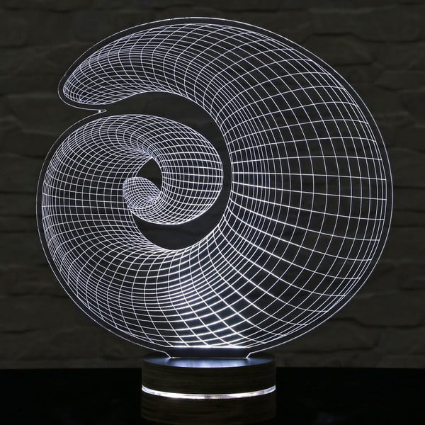 Lampa 3D stołowa Shell