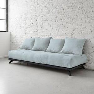 Sofa Senza Black/Sky Blue