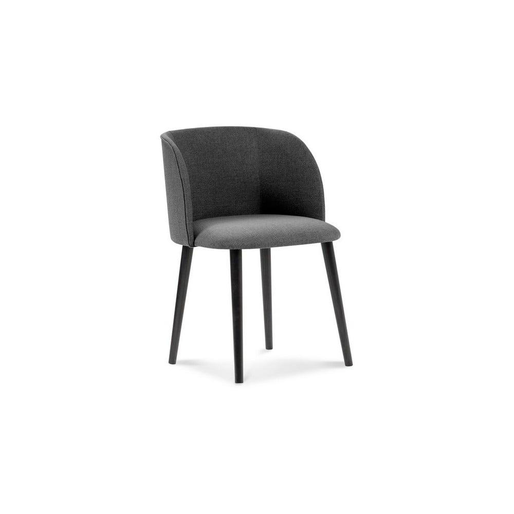 Ciemnoszare krzesło Windsor & Co Sofas Antheia
