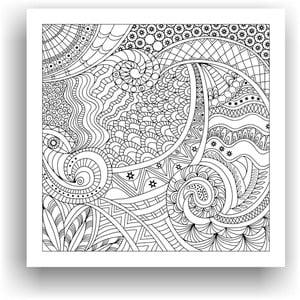 Obraz do kolorowania 37, 50x50 cm