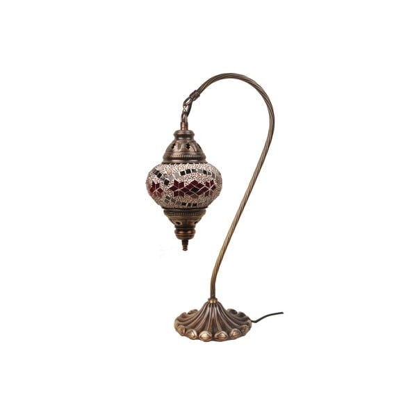 Szklana lampa Fishing XI, 13 cm