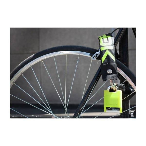 Zapięcie rowerowe Hiplok V1.5, black/lime/lime