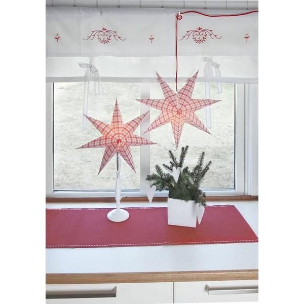 Świecąca gwiazda ze stojakiem Bobo Black, 34 cm