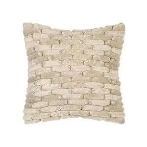 Piaskowobrązowa poduszka ZicZac Cobble Stone, 45x45 cm