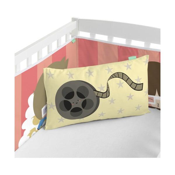 Ochraniacz do łóżeczka Happynois Pop Corn, 210x40 cm