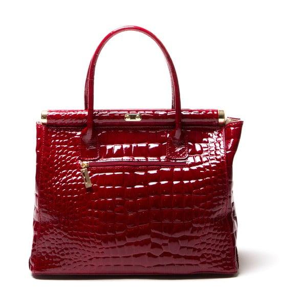 Skórzana torebka Luisa Vanini 613 Rosso