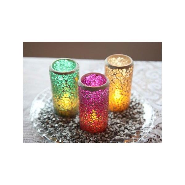 Zestaw 3 lampionów Mosaic