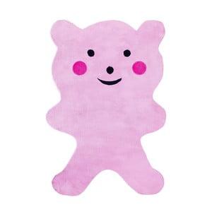 Dywan dziecięcy Mavis Teddy Bear Pink, 100x150 cm