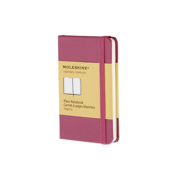 Notatnik Moleskine XS Dark Pink, czysty