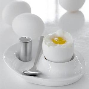 Porcelanowy kieliszek na jajko Steel Function Milano