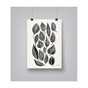 Plakat Americanflat Fall Leaves, 30x42 cm