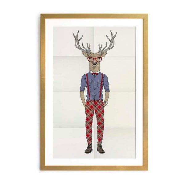 obraz little nice things deer 40x60 cm bonami. Black Bedroom Furniture Sets. Home Design Ideas