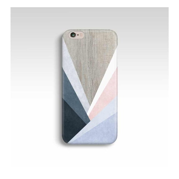 Etui na telefon Wood Triangles na iPhone 5/5S