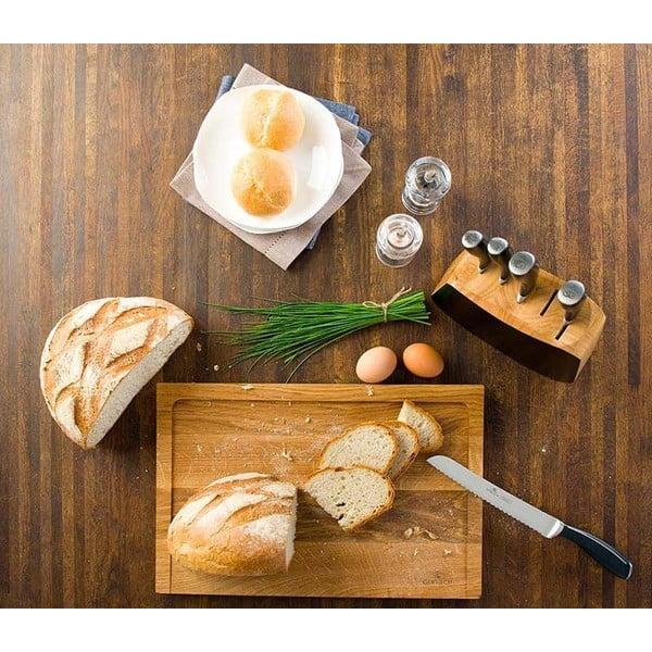 Zestaw 5 noży kuchennych w bloku Gerlach Wild