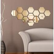 Lustro dekoracyjne Plastry miodu