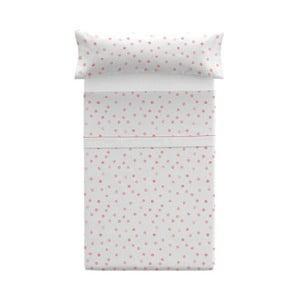 Poszewka na poduszkę z prześcieradłem Pooch Confetti Coral, 125x45cm