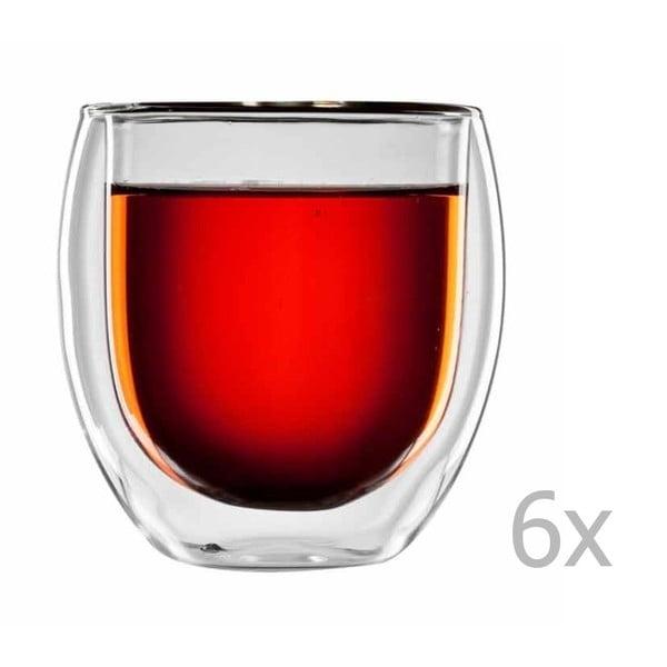 Zestaw 6   szklanek na herbatę bloomix Tunis