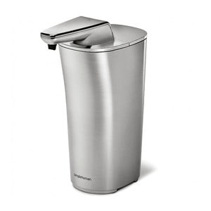 Bezdotykowy dozownik do mydła simplehuman Compact, srebrny