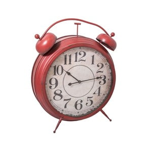 Budzik Antic Red Clock