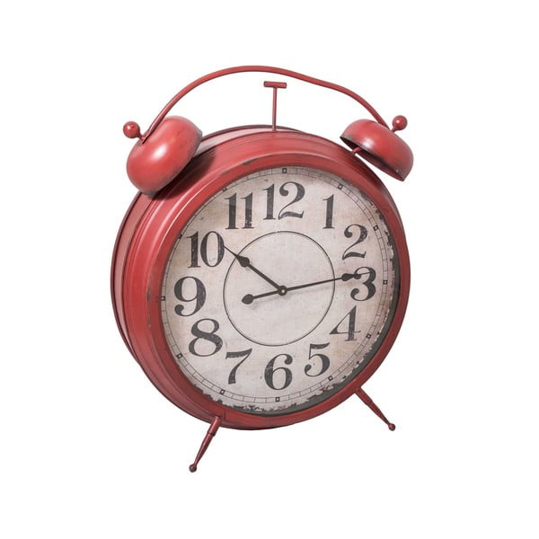 Budzik Antic Red Clock