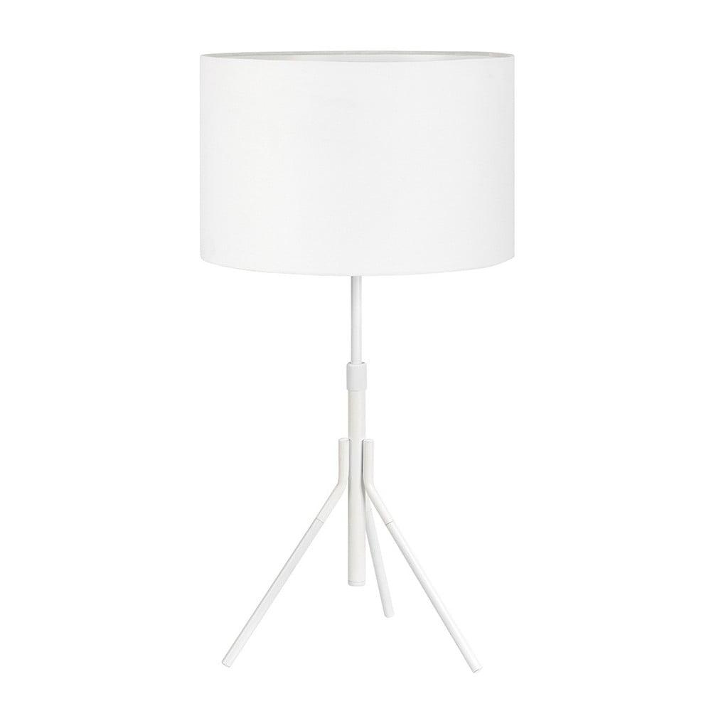 Biała lampa stołowa Markslöjd Sling