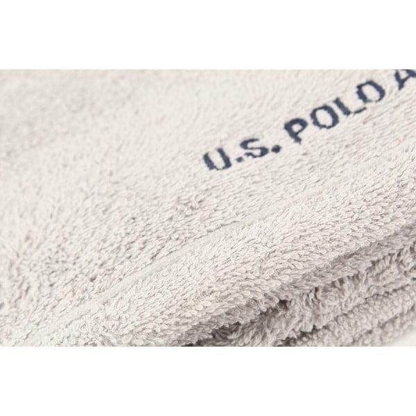 Ręcznik U.S. Polo Assn. Grey Taos, 50x80 cm