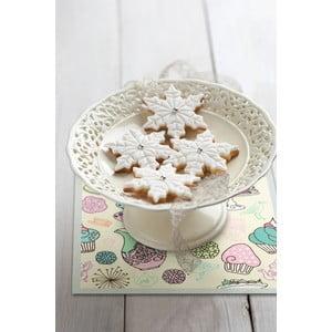 Zestaw 2 mat stołowych Sweets, 20x20 cm