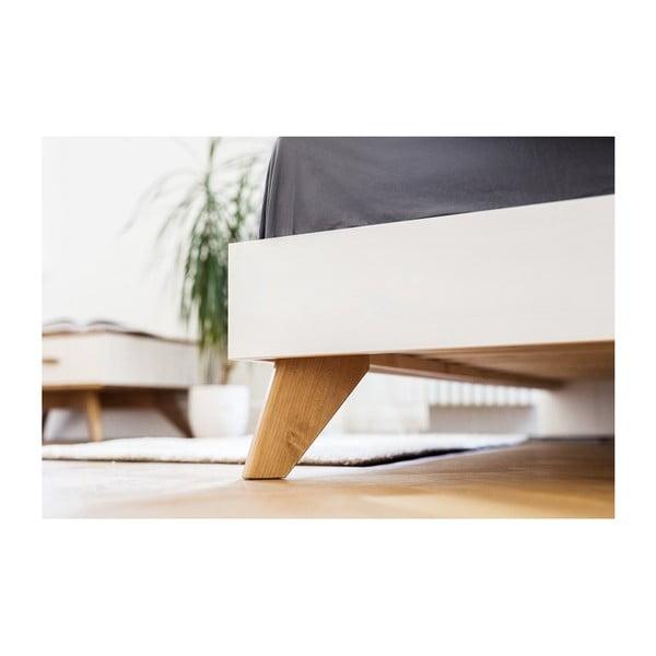 Łóżko z drewna sosnowego Askala Maru, szer. 180 cm